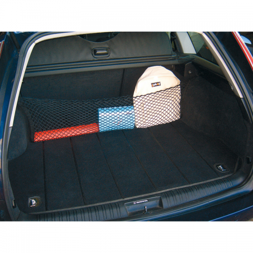 Kofferbaknet spider 90x90cm incl beugels for Auto interieur reparatie