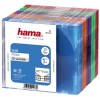 Hama CD Slim Box Gekleurd 25Pak