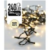 Kerstverlichting 240 LED's 18 meter warm wit