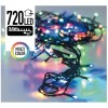 Kerstverlichting 720 LED's 54 meter multicolor