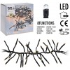 Clusterverlichting - 1512 LED - 11m - extra warm wit