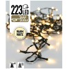 Easy Setup Kerstboomverlichting 223 LED's warm wit